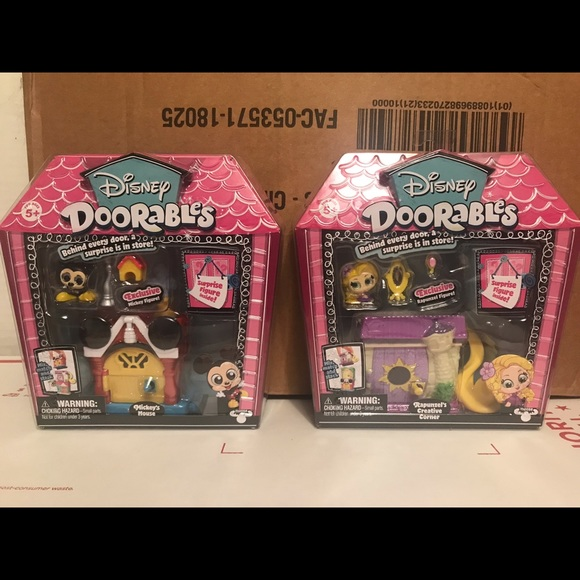 Moose Toys Other New Disney Doorables Rapunzel Mickey Mouse Poshmark